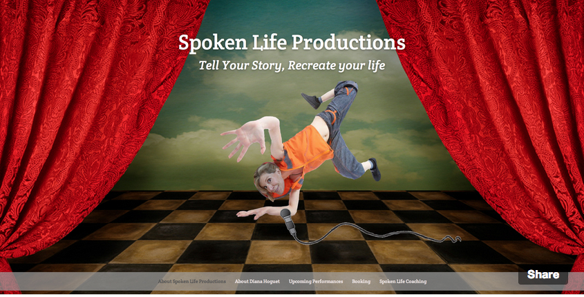 Spoken Life Productions Website